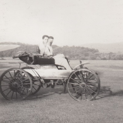 1909 Sears Motor Buggy at Stormville, 1958